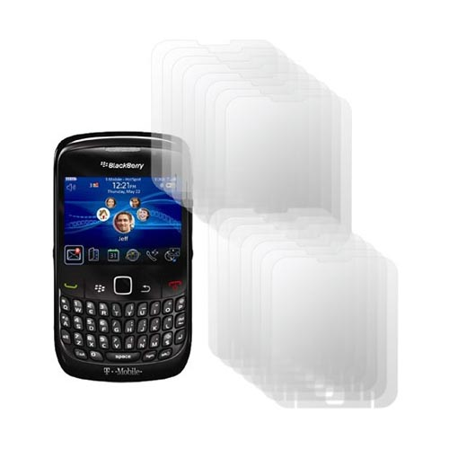 Original ScreenGuardz Blackberry Curve 3G 9330, 9300, 8520, 8530 Crystal Clear Screen Protector (15 pack), NL-SBC8-0509