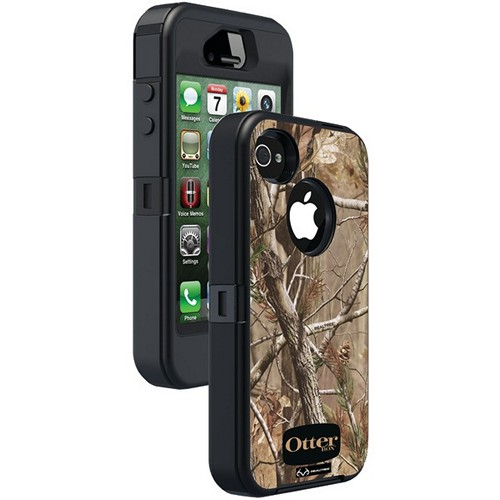OTTERBOX APL2-I4SUN-H6-E4RT1_A: IPHONE 4S DEFENDER SERIES CASE (BLACK/AP CAMO PATTERN)
