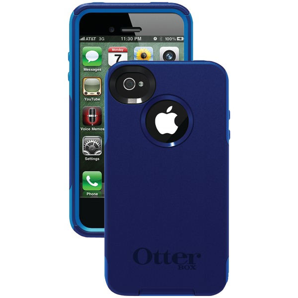 OTTERBOX APL4-I4SUN-F5-E4OTR_A IPHONE 4S COMMUTER SERIES CASE (NIGHT BLUE/OCEAN SLIP COVER)