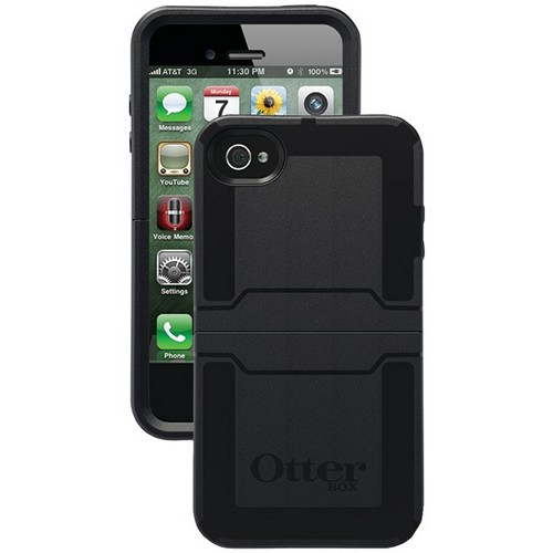 OTTERBOX APL7-I4SUN-20-E4OTR IPHONE(R) 4S REFLEX(R) SERIES CASE (BLACK)