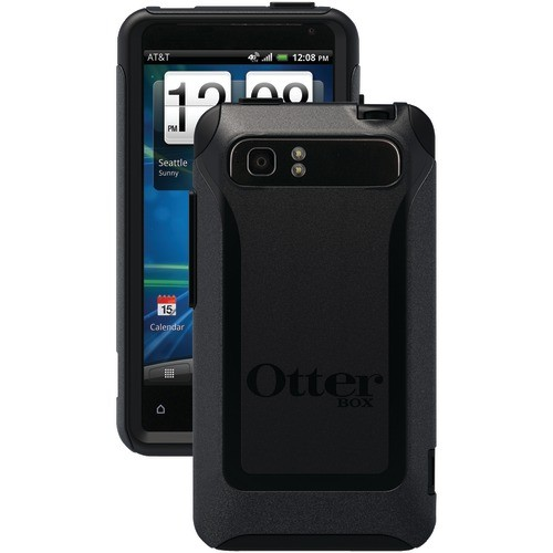 OTTERBOX HTC4-39100-20-E4OTR HTC(R) VIVID(TM) COMMUTER SERIES(R) CASE (BLACK/BLACK)