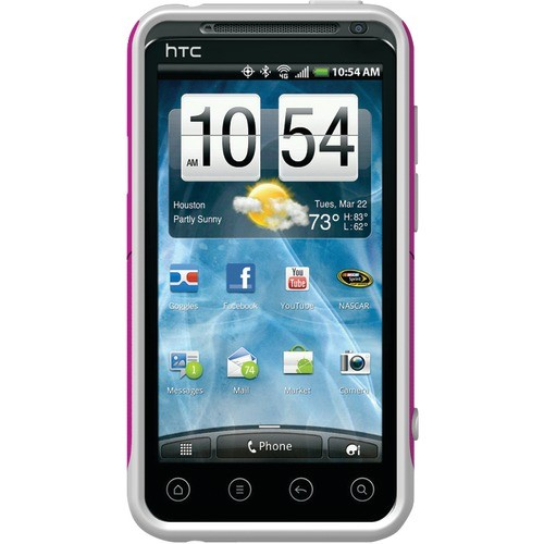 OTTERBOX HTC4-EVO3D-44-E4AVN HTC(R) EVO(TM) 3D PINK IS STRENGTH COMMUTER SERIES(R) CASE