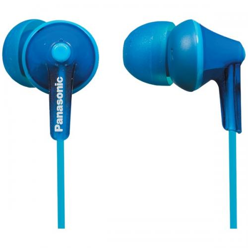 PANASONIC RP-TCM125-A TCM125 Earbuds with Remote & Microphone (Blue)