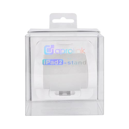 Original Aprolink Apple iPad/ 2 Charging/ Synchronizing/ Viewing Stand, PAS-02-01 - White/ Gray
