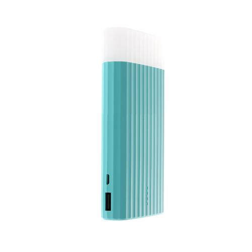 [Proda] Ice Cream [10000 mAh] Power Bank Portable Charger, USB 2.1A Output Power Bank w/ LED Light [Mint]