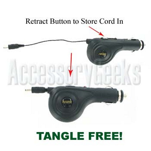 Retractable Car Charger (Pin TYPE)