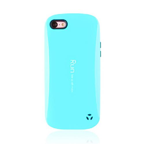 [REDShield] Sky Blue/ Black Apple iPhone 5C Hard Case Cover on Skinny Shockproof Silicone Hybrid Case; Perfect fit as Best Coolest Design cases