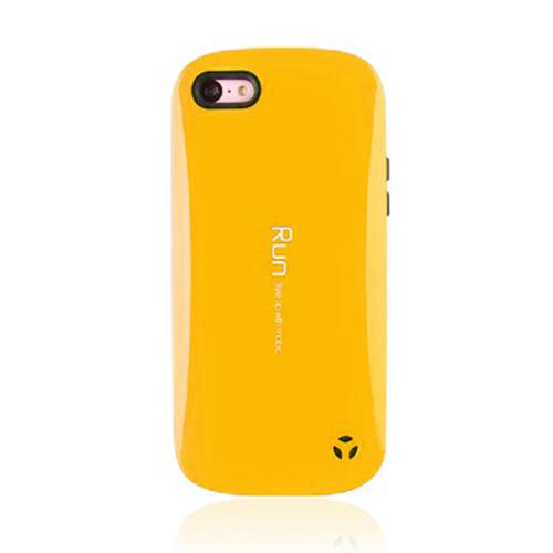 [REDShield] Yellow Apple iPhone 5C Hard Case Cover on Skinny Shockproof Silicone Hybrid Case; Perfect fit as Best Coolest Design cases