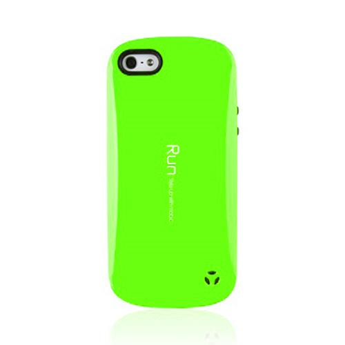 [REDShield] Lime Green Apple iPhone 5/ iPhone 5s Hard Case Cover on Skinny Shockproof Silicone Hybrid Case; Perfect fit as Best Coolest Design cases
