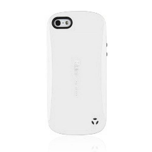 [REDShield] White/ Black Apple iPhone 5/ iPhone 5s Hard Case Cover on Skinny Shockproof Silicone Hybrid Case; Perfect fit as Best Coolest Design cases
