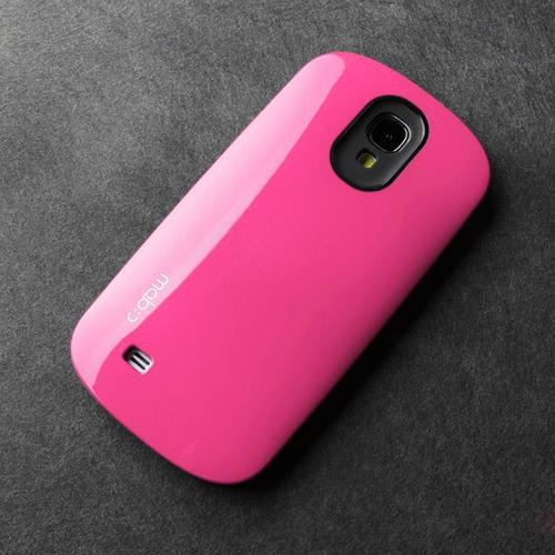 [REDShield] Hot Pink/ Black Samsung Galaxy S4 Hard Case Cover on Skinny Shockproof Silicone Hybrid Case; Perfect fit as Best Coolest Design cases