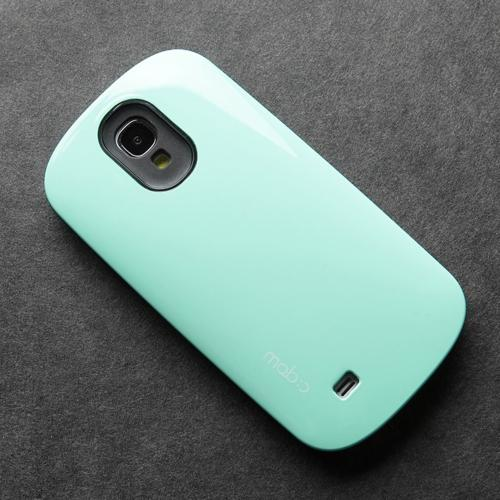 [REDShield] Mint/ Black Samsung Galaxy S4 Hard Case Cover on Skinny Shockproof Silicone Hybrid Case; Perfect fit as Best Coolest Design cases