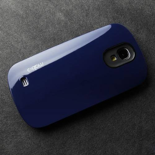 [REDShield] Navy Blue/ Black Samsung Galaxy S4 Hard Case Cover on Skinny Shockproof Silicone Hybrid Case; Perfect fit as Best Coolest Design cases