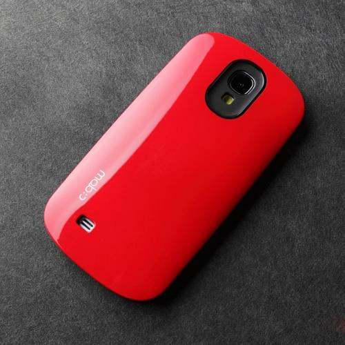 [REDShield] Red/ Black Samsung Galaxy S4 Hard Case Cover on Skinny Shockproof Silicone Hybrid Case; Perfect fit as Best Coolest Design cases