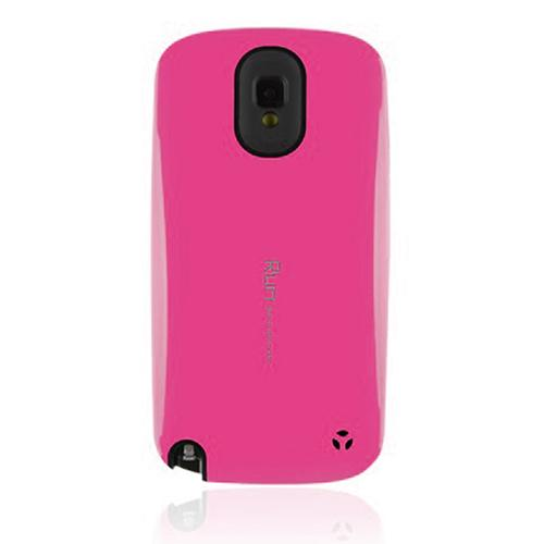 [REDShield] Hot Pink/ Black Samsung Galaxy Note 3 Hard Case Cover on Skinny Shockproof Silicone Hybrid Case; Perfect fit as Best Coolest Design cases