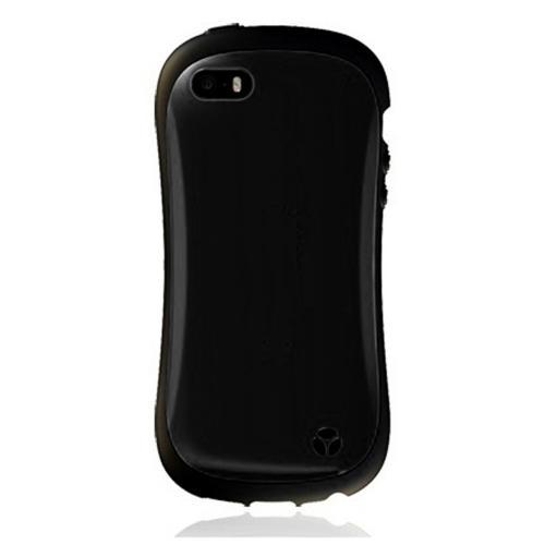 [REDShield] Black Apple iPhone 5/ iPhone 5S Hard Case Cover on Shockproof Silicone Fashion Hybrid Case; Perfect fit as Best Coolest Design cases