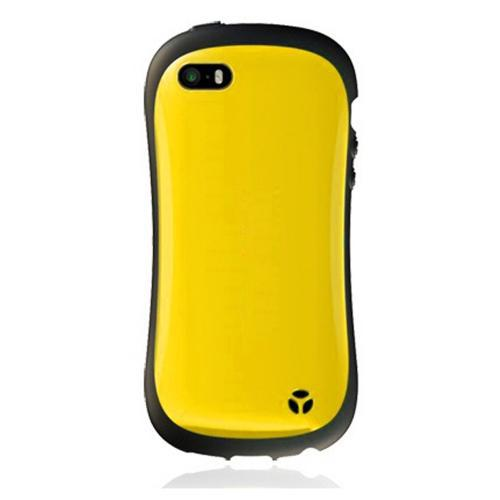[REDShield] Yellow/ Black Apple iPhone 5C Hard Case Cover on Shockproof Silicone Fashion Hybrid Case; Perfect fit as Best Coolest Design cases