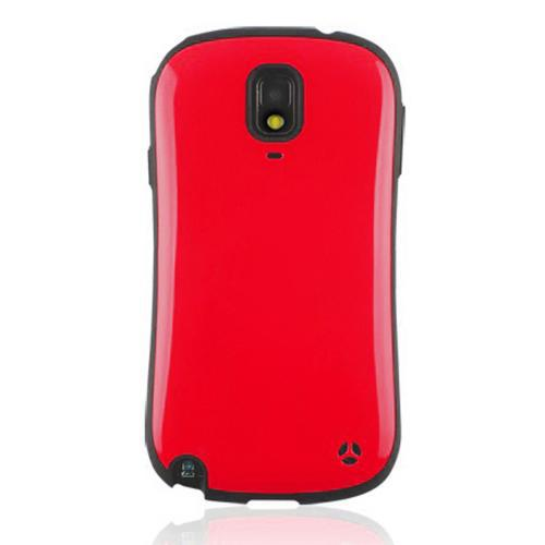 [REDShield] Red/ Black Samsung Galaxy Note 3 Hard Case Cover on Shockproof Silicone Fashion Hybrid Case; Perfect fit as Best Coolest Design cases