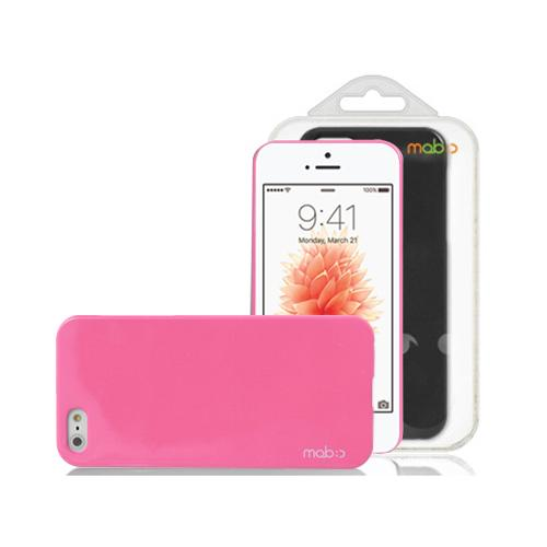 [Apple iPhone SE/5/5S] Case, MobC [Baby Pink]  Hard Case Cover; Perfect fit as Best Coolest Design Plastic Case w/ Free Screen Protector!