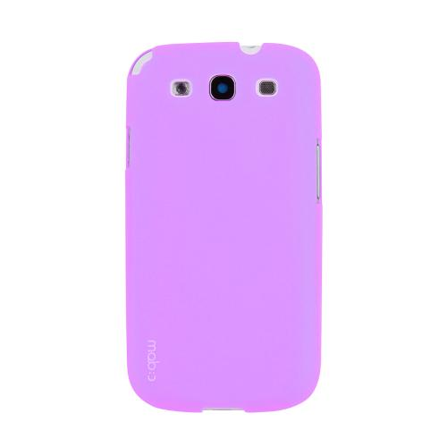 MobC Lavender Samsung Galaxy S3 Hard Case Cover; Perfect fit as Best Coolest Design Plastic Case
