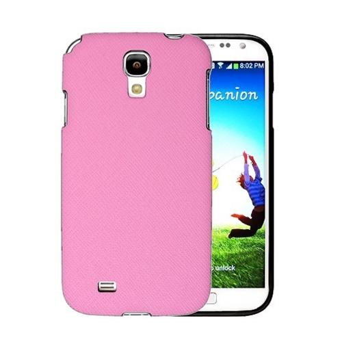 [REDShield] Baby Pink Samsung Galaxy S4 Case Cover; [Anti-Slip] Soft Silicone TPU Gel Material w/Coolest Fashion  faux leather Textured Back