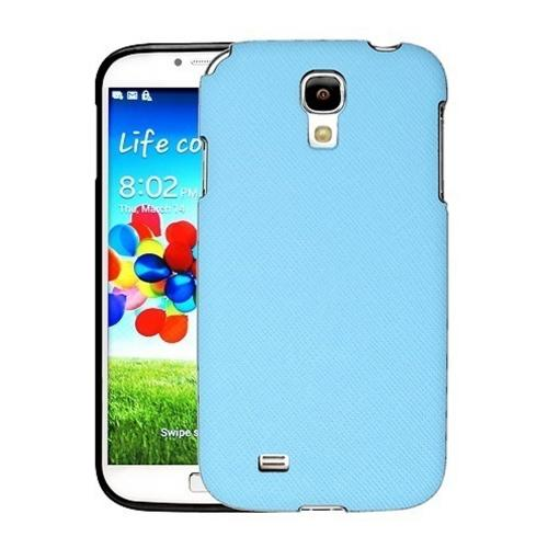 [REDShield] Sky Blue Samsung Galaxy S4 Case Cover; [Anti-Slip] Soft Silicone TPU Gel Material w/Coolest Fashion  faux leather Textured Back