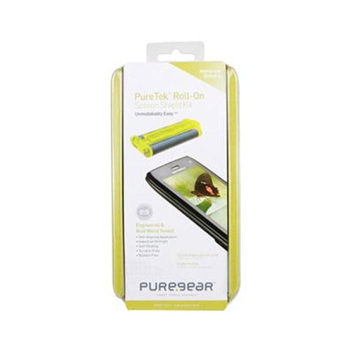 Original Puregear AT&T/ Verizon Apple iPhone 4, iPhone 4S PureTek Roll-On Screen Protector - Clear - XXIP4