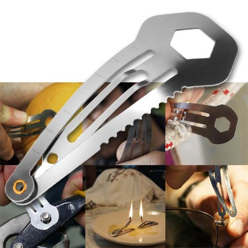 Universal Stainless Steel Multi-Function 8 in 1 Tool Spring Clip Pin