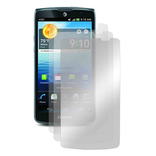 Screen Protector Medley w/ Regular, Anti-Glare, & Mirror Screen Protectors for Pantech Discover