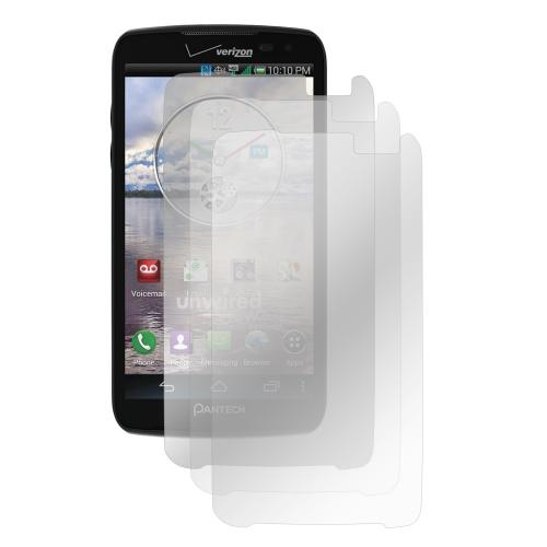 Screen Protector Medley w/ Regular, Anti-Glare, & Mirror Screen Protectors for Pantech Perception