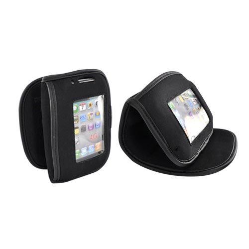 Original Pod Flex Pro Apple iPhone, iPod, and Android Multi-Use Bendable Tool Case and Compartment - Black