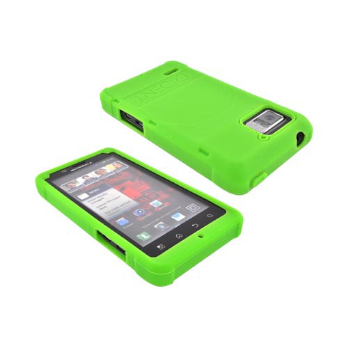 Original Trident Perseus Motorola Droid Bionic XT875 Impact-Resistant Silicone Case, PS-BIO-GR - Lime Green