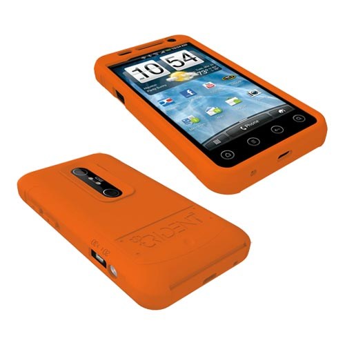 Original Trident Perseus HTC EVO 3D Impact-Resistant Silicone Case, PS-EVO-3D-OR - Orange