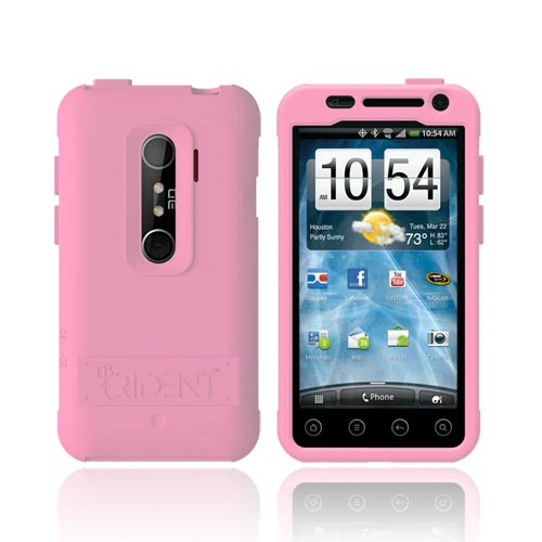 Original Trident Perseus HTC EVO 3D Impact-Resistant Silicone Case, PS-EVO-3D-PK - Pink