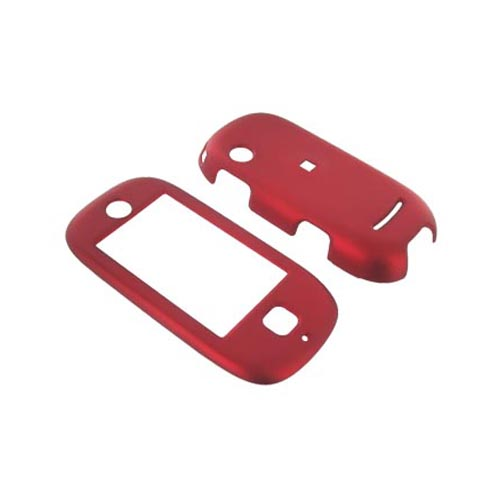 Motorola Evoke QA4 Case Combo (Hard Case & Body Glove) - Rubberized Red