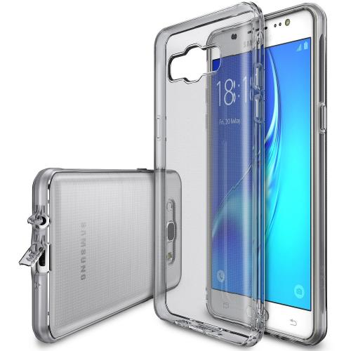 Galaxy J5 Case, Ringke [AIR] [Black] Ultra-Thin Lightweight TPU Flexible Case for Samsung Galaxy J5