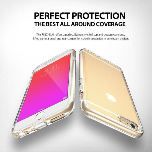 Apple iPhone 6 PLUS/6S PLUS (5.5 inch) Case, Ringke® [AIR] Extreme Lightweight Ultra-Thin TPU Case - Clear