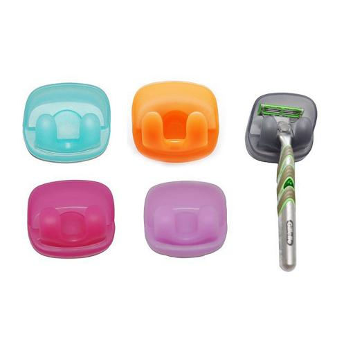 Suction Razor Holder [Aqua] Keep Your Razor Safe and Clean!