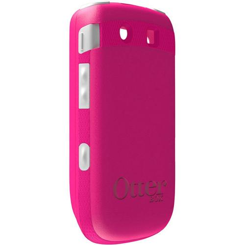 Original Otterbox Blackberry Torch 9800 Hybrid Commuter Series Case w/ Screen Protector, RBB4-9800S-44-E - Pink/White