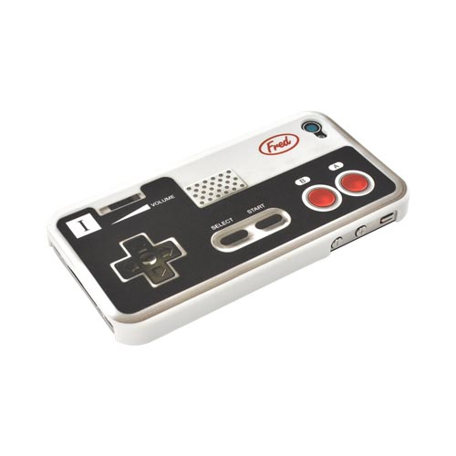 Original Fred & Friends AT&T/ Verizon Apple iPhone 4, iPhone 4S Re/Cover Snap-On Case, RECON - Retro Gaming Controller