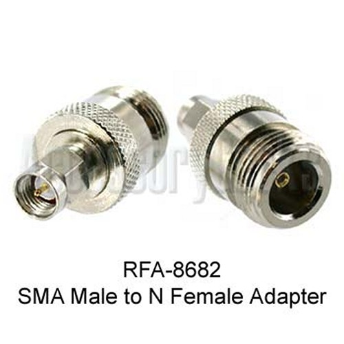 SMA Male to N Female Adapter, RFA-8682