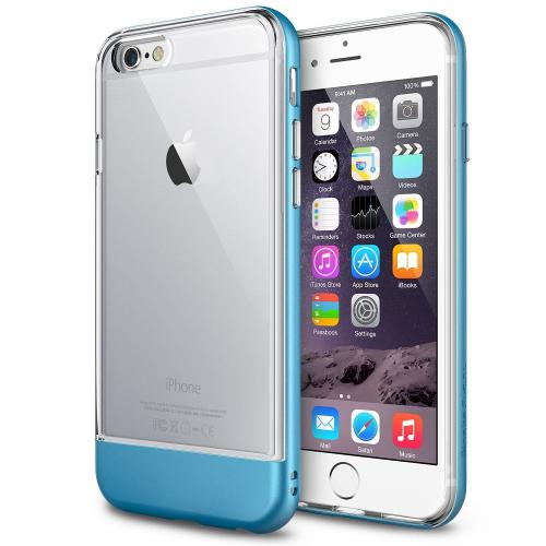 "iPhone 6 (4.7"") Case - Ringke FUSION Series [Ocean Blue] Shock Absorption Bumper Premium Hybrid Hard Case"