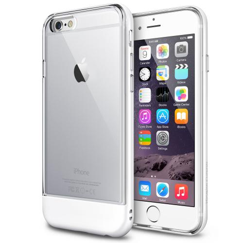 "iPhone 6 (4.7"")Case - Ringke FUSION Series [Pearl White] Shock Absorption Bumper Premium Hybrid Hard Case"
