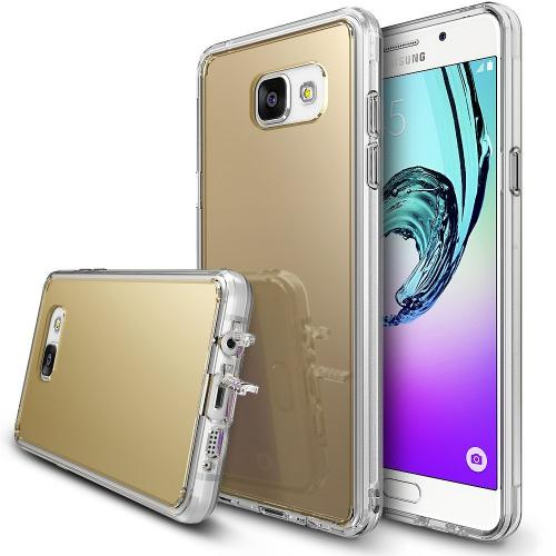[Samsung Galaxy A3 2016] Case, RINGKE [FUSION MIRROR] Royal Gold