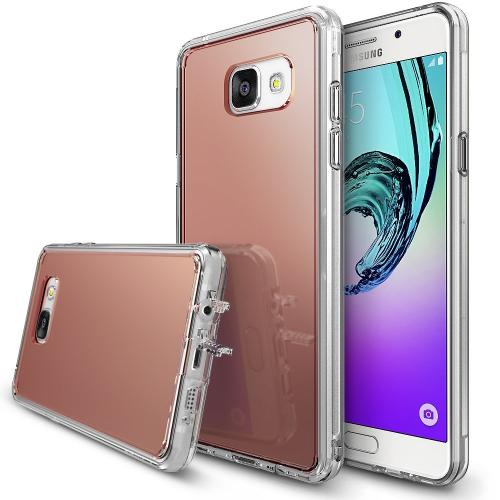 [Samsung Galaxy A5 2016] Case, RINGKE [FUSION MIRROR] Rose Gold