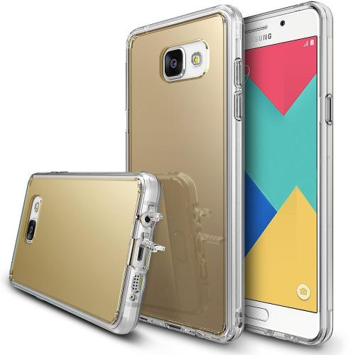 [Samsung Galaxy A9 2016] Case, RINGKE [FUSION MIRROR] Royal Gold