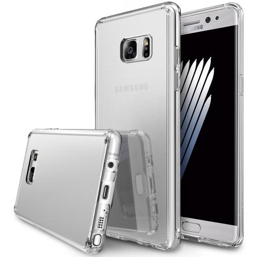 Samsung Galaxy Note 7 Case, [FUSION MIRROR] Bright Reflection Radiant Luxury Mirror Case [Silver]