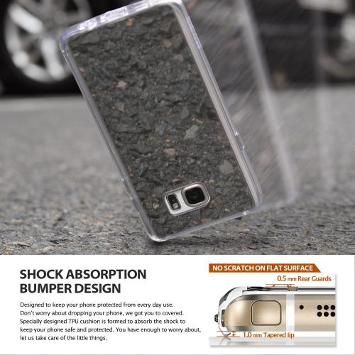Samsung Galaxy Note 5,Ringke [Clear] FUSION MIRROR Slim & Protective Shock Absorption Case Cover