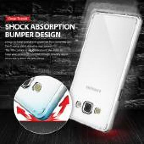 Samsung Galaxy A5 Case, Ringke [Clear] FUSION Series Slim & Flexible Anti-shock Crystal Silicone Protective TPU Gel Skin Case Cover