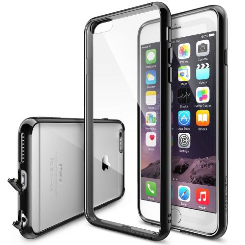 Ringke Black FUSION Series Crystal Back Bumper Case for Apple iPhone 6 PLUS/6S PLUS (5.5 inch)